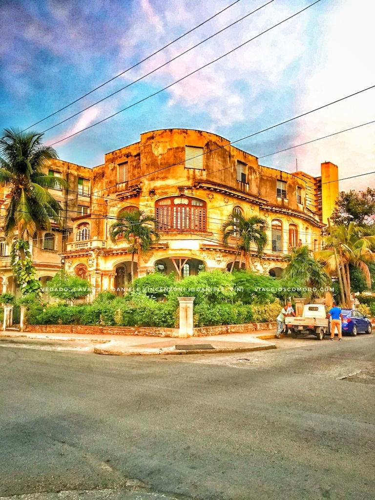 Uno scorcio del Vedado, celebre quartiere residenziale di L'Avana, Cuba