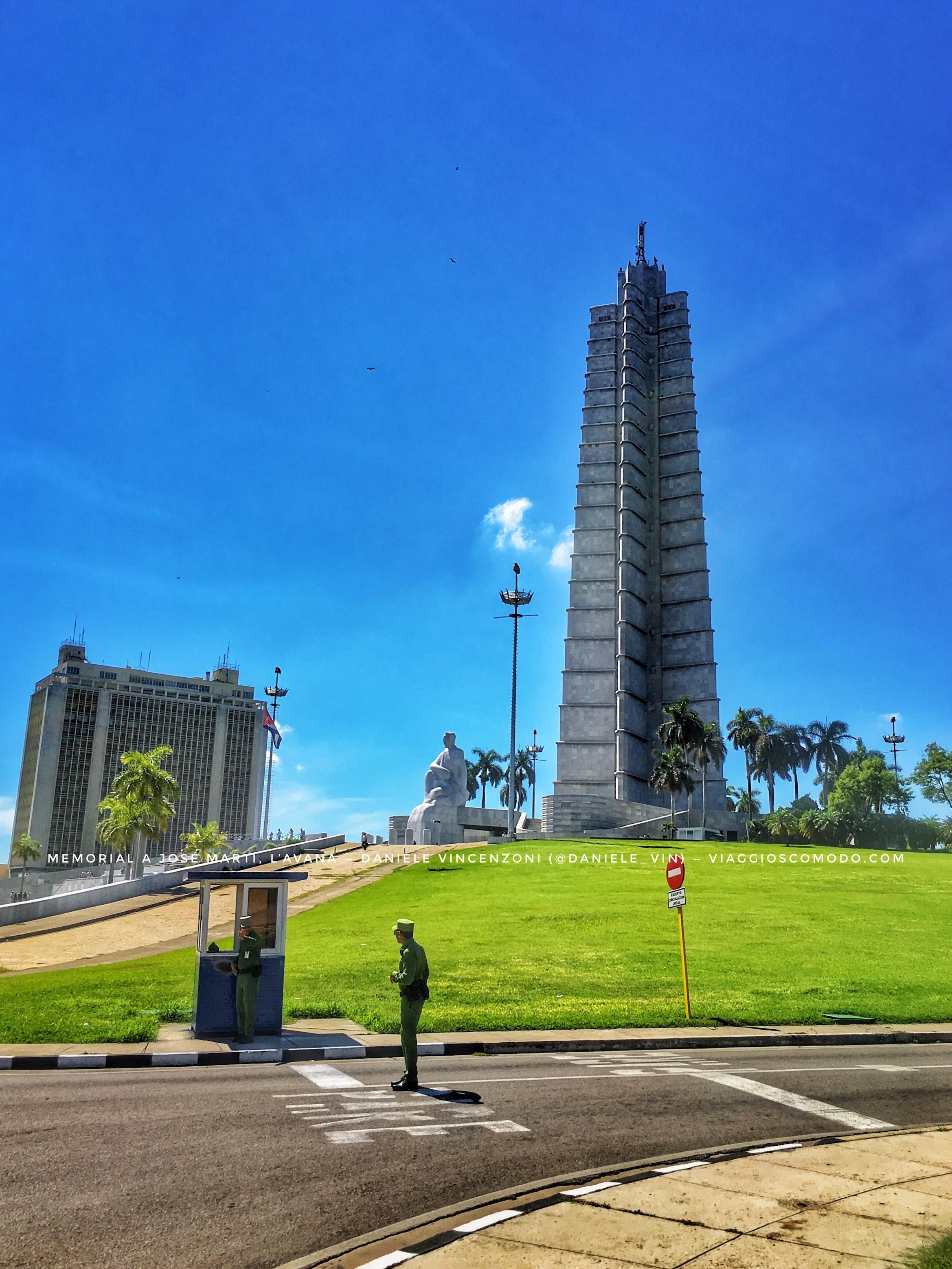 Memorial a José Martí - L'Avana - Cuba
