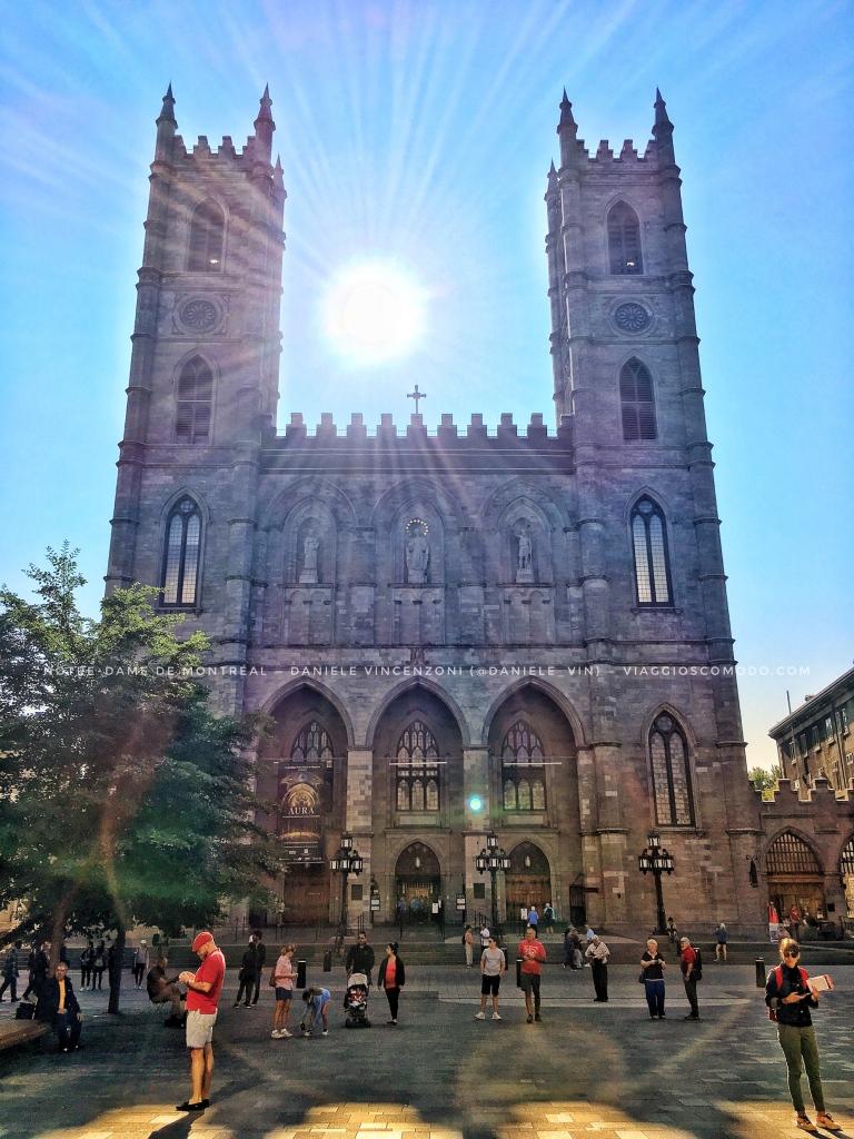 Notre-Dame de Montréal, Canada — Facciata