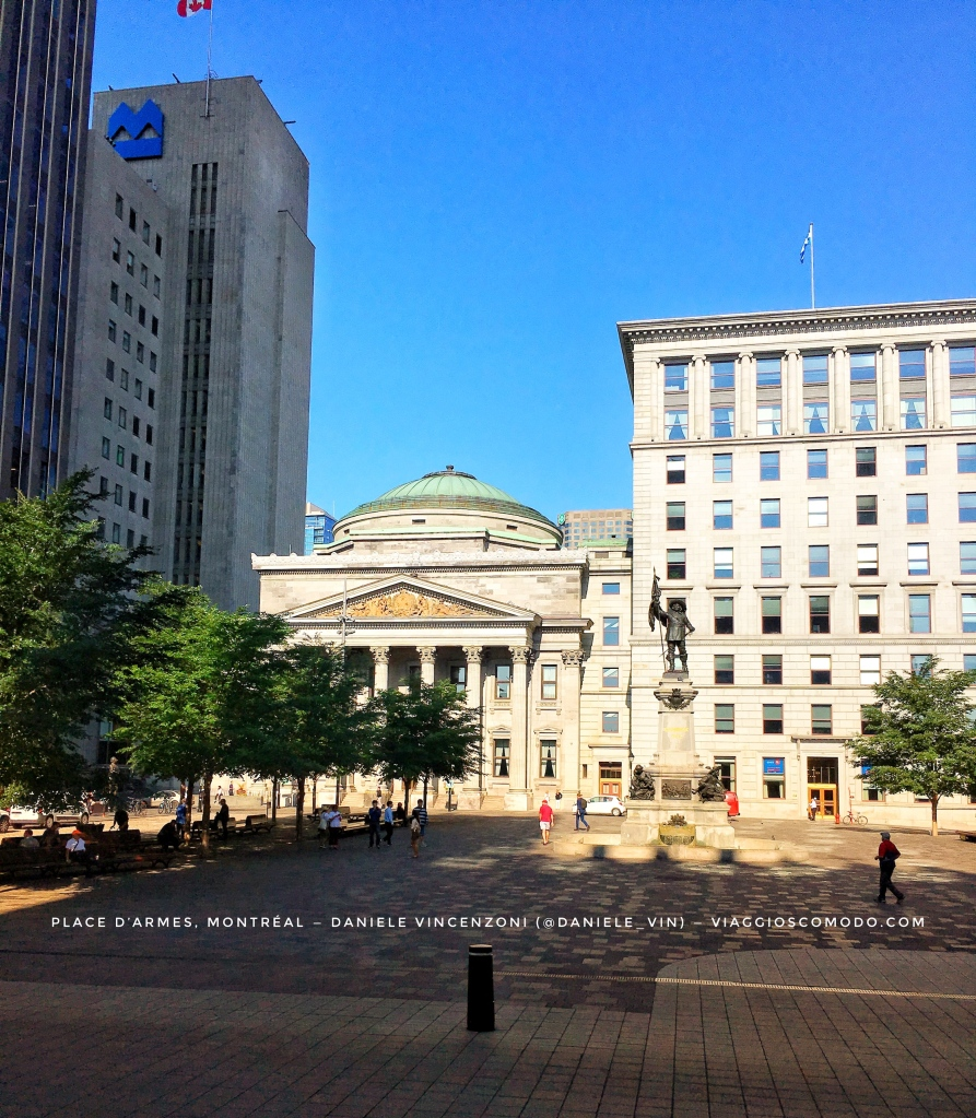 Place d'Armes, Montreal — Canada