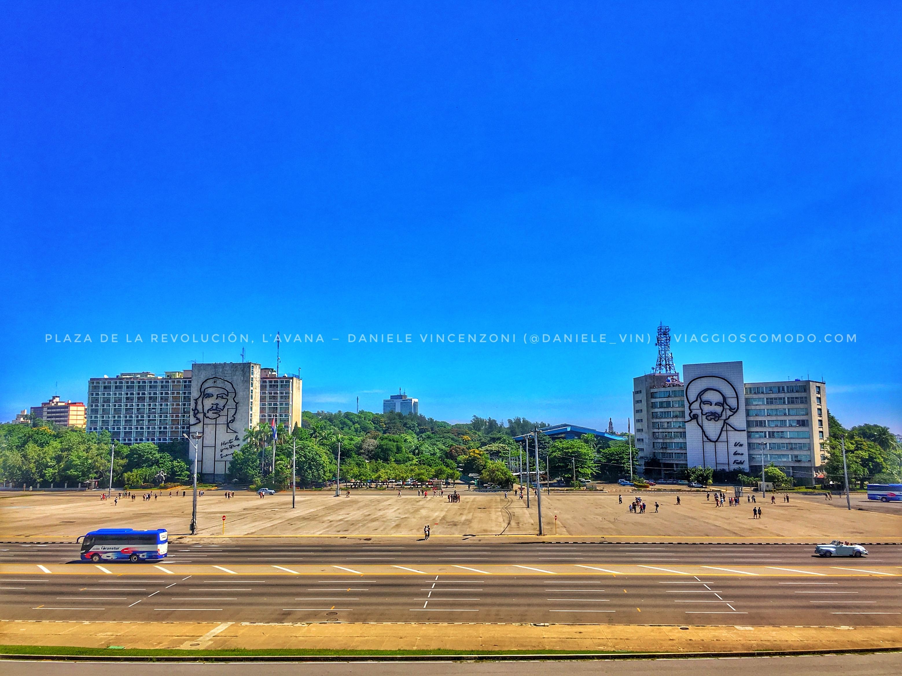 Plaza de la Revolucion - Vedado - L'Avana - Cuba