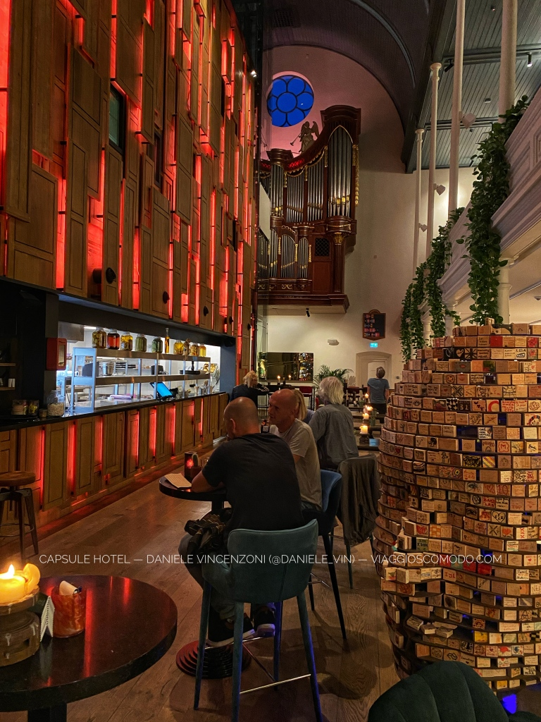 Capsule hotel — Bunk Hotel Utrecht (Paesi Bassi/Olanda)
